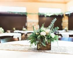 Wood Centerpiece Wedding Rustic Decor Table Decorations Reclaimed