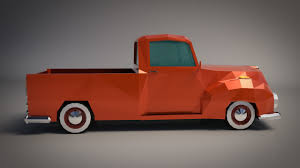 Low-Poly Cartoon Vintage Pickup Truck 3D Asset | CGTrader Old American Blue Pickup Truck Vector Illustration Of Two Cartoon Vintage Pickup Truck Outline Drawings One Red And Blue Icon Cartoon Stock Juliarstudio 146053963 Cattle Car Farming Delivery Riding Car Royalty Free Image Cute Driving With A Christmas Tree Art Isolated On Trucks Download Clip On 3 3d Model 15 Obj Oth Max Fbx 3ds Free3d White Background