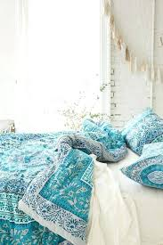 Blue Bohemian Bedroom Ideas X Style Bed Set Twin Decor Chic