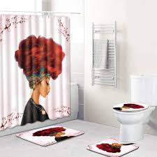 SaiDeng 4pcs African Women Bathroom Set Ideas Art Non-Slip Toilet ... Christmas Decor Ideas For An Exquisite Bathroom Interior Beach Nautical Themed Bathrooms Hgtv Pictures Bathroom Beach Decor Ideas Wall Colors Coastal Amazing Moen Accsories With Toilet Paper Striking Seashell Set Theme Woland Music Fniture Saideng 4pcs African Women Art Nonslip Flproof Color Combos Sets Bamboo Gloss Freestanding Fitted Argos Walnut White Glamorous Shower Curtains Curtain Rug Complete Extraordinary 2017 Grey Small Lobby 70 Palm Tree Wwwmichelenailscom