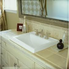 Home Depot Overmount Bathroom Sink by Overmount Bathroom Sinks Overmount Bathroom Sinks Serif Ceramic