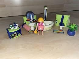 playmobil 4285 badezimmer einrichtung möbel teppich figuren
