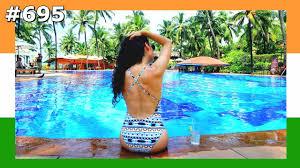 GOA SWIMMING POOL DAY TAJ HOTEL INDIA 695