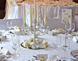 Cute Winter Wonderland Wedding Ideas On Head Table Decorations