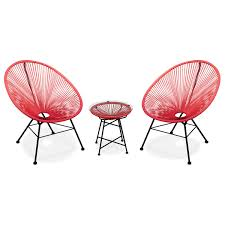 ACAPULCO 2x Egg Designer String Chairs With Side Table | Exists In 4 COLOURS Details About Set Of 2 Allweather Oval Weave Lounge Patio Acapulco Papasan Chair Orange Black Resortgrade Chairs The Cheap Replica Designer Indoor Outdoor In Grey White On Frame Amazoncom With Fire Pit Chair 3d Model Items 3dexport Add Zest To Any Space Part Iii Sun Blue Brand New Pieces Red Egg Chair Modern Pearshaped Retro Adult