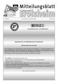 Dieter Knoll Kã Che Planen Sportverein Und Musikverein Erolzheim