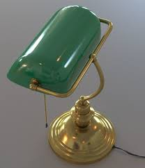 Emeralite Lamp Shade 8734 by 100 Green Bankers Lamp Shade Ore International 12 5 In Gold