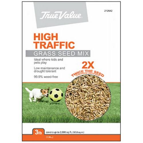Barenbrug USA Tvht3 High-Traffic Grass Seed, 3-Lbs.