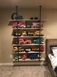 Truck Storage Bruder Trucks Shelves Toy Storage Boy Room Boys ...