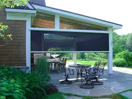Roll Up Patio Shades by Roll Up Screens For Patio Balcony Height Patio Furniture