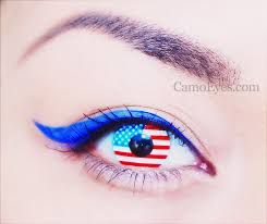 Prescription Halloween Contacts Ireland by American Flag Contacts Camoeyes Com