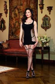 womens clothing ami clothing club dresses black lace fishnet