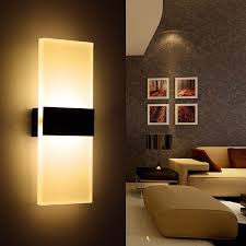 6w led wall l bedroom bedside living room hallway stairwell