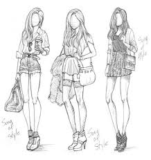 Top Hipster Girl Outfits Drawings With Pictures Of Style New In Design