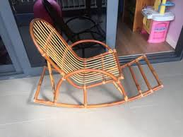 Rattan Rocking Chair (Child Size), Furniture, Others On ...