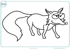 Animales Salvajes Para Pintar HD DibujosWikicom