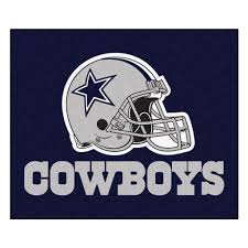 The Dallas Cowboys Tailgater Area Rug By FanMats Measures 60