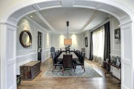 Dining Room In Entryway Decorating Traditional With