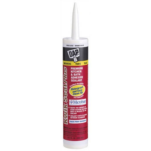 Dap Kwik Seal Plus Kitchen & Bath Adhesive Sealant