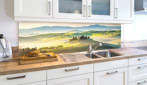 landschaft motive für deine küchenrückwand wall2art