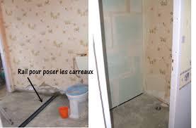 separation salle de bain les travaux de la salle de bain plaisir jardin