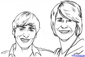 Big Time Rush Coloring Pages 20 Print A Picture Of Btr Pictures To Pin On Pinterest
