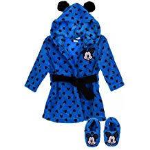 robe de chambre bébé 18 mois amazon fr peignoir mickey