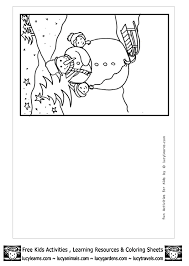 Printable Coloring Pages Christmas Cards
