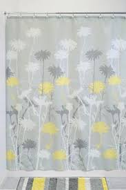 Yellow And Grey Bathroom Window Curtains by Decorated Bathrooms With Shower Curtains Google Search