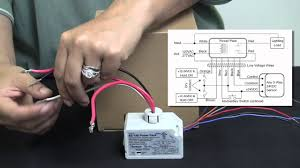 Ceiling Mount Occupancy Sensor Wiring Diagram by Wattstopper How To Wiring A Bz 150 Universal Voltage Power Pack