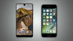The Essential Phone vs iPhone 7
