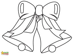 Christmas Bells Coloring Pages Kids And