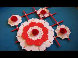Paper Craft Ideas For Room Decoration New Diy Simple Home Decor Wall Hanging Flower 7