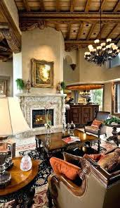 Old World Tuscan Decor Homes Style Fireplace Surrounds Best Images On Rustic Colonial
