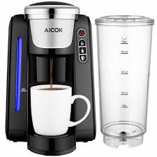 Single Serving Coffee Maker Elegant Serve Aicok K Cup Pods