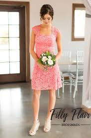 celeste bridesmaid dress in coral u2013 filly flair