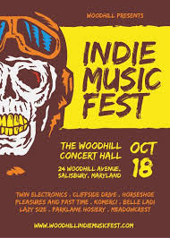 Indie Music Fest Poster