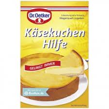 dr oetker käsekuchen hilfe 58g beutel lifestylefood ch
