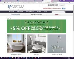 Vintage Tub Bath Coupons Promo Codes / Dell Coupon Xps One 2710 My Pillow Coupons Codes Tk Tripps Efaucets Coupon Code Freecouponsdeal Top Stores Coupons Discounts Promo Codes Impressions Vanity Coupon Code Panda Express December 2018 Vb Xm Rohl Ay51lmapc2 Cisal Bath Polished Chrome Onehandle Bathroom Faucet Smart Choice Fniture Wdst Restaurant Deals Zenhydrocom 2019 Up To 80 Off Discountreactor Dealhack For Parts Geeks Coupon