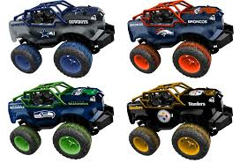 Officially Licensed NFL Remote Control Monster Trucks For $34.99 + ... Electric Remote Control Redcat Volcano Epx Pro 110 Scale Brushl Cc Global 2018 Renault K 460 84 With An Rsp Suction Excavator Gas Cars And Trucks Rc Car News Greeley Co Jackwagon Us Intey Amphibious 112 4wd Off Road Monster Rock Crawling 118 Road Vehicles Military Generic Deexopbabrit F11 24ghz Wireless Controls Bring Benefits To Fire Gulf Crawler Truck Charging Climb Boys Toys Kids Tractor Radio Toy Model Toys Tipper Dump