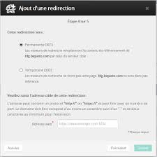 redirection d un nom de domaine ovh docs