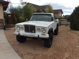 Lifted 4 Door Jeep Truck. A Sixinch Wheelbase Stretch The Comancheus ...