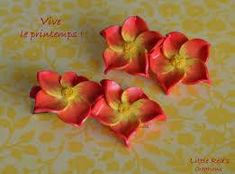 tuto polymère 10 broche et barrette fleur 3d fimo partenariat
