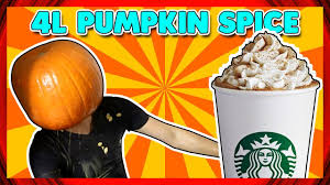 Pumpkin Spice Condoms Images by Starbucks Pumpkin Spice Latte 1 Gallon Challenge Youtube