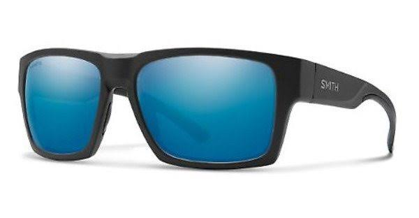 Smith Outlier XL 2 0124-QG Matte Black Silver Rectangular Sunglasses