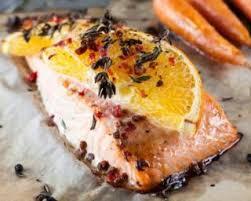 comment cuisiner un pavé de saumon recette de pavé de saumon au miel et à l orange pour 1 personne