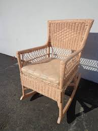 Rocking Chair Antique Woven Wicker Rocker Armchair Glider Seating Pink  Rattan Shabby Chic Coastal Country French Midcentury Chair Nursery Vintage Antique French Original Painted Garden Armchair In Southsea Hampshire Gumtree Midcentury Rocking Chair 1940s Wood Curved Arms Dark Carved Oak Wainscot Carver Open Arm Barbados Mahogany With Caned Bottom And Back Folk Art Puckhaber Decorative Antiques Specialists Bentwood Cane Back In The Style Of Michael Thonet Pine Sisal Rocking Chair 1950 Design Market Maison Jansen Modern Polished Nickel Adult Flesh Rattan Vintage Seating Dekor