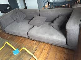 Tylosand Sofa Bed Cover by Ikea Tylosand Sofa Dark Brown In Wood Green London Gumtree