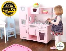 Kidkraft Pink Vintage Kitchen And Play Wooden Retro Kids Toy Cooking By 45