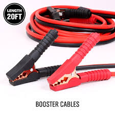 Comercial Heavy Duty 20 FT 2 Gauge Booster Cable Jumping Cables ... Heavy Duty Jumper Cables For Industrial Vehicles Truck N Towcom Enb130 Booster Engizer Roadside Assistance Auto Emergency Kit First Aid 1200 Amp 35 Meter Jump Leads Cable Car Van Starter Key Buying Tips Revealed Amazoncom Cbc25 2 Gauge Wire Extra Long 25 Feet Ft Lexan Plug Set With 500 Amp Clamps Aw Direct Buyers Products Plugins 22ft 4 Ga 600 Kapscomoto Rakuten X 20ft 500a Armor All Start Battery Bankajs81001 The Home Depot